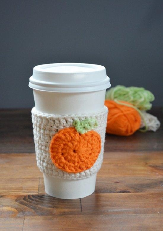 DIY Crochet Mug Cozy 13