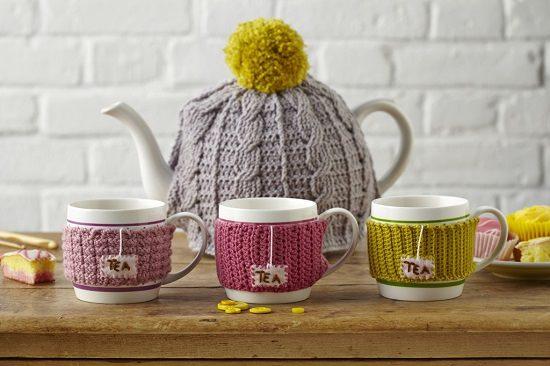 DIY Crochet Mug Cozy 2
