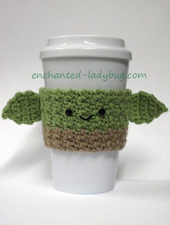 DIY Crochet Mug Cozy 4