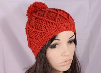 Something stylish and enchanting just a few steps away. How about making a beanie for yourself to match it with any dress? Try this Free Crochet Beanie Pattern.