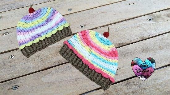 DIY Crochet Cake 11