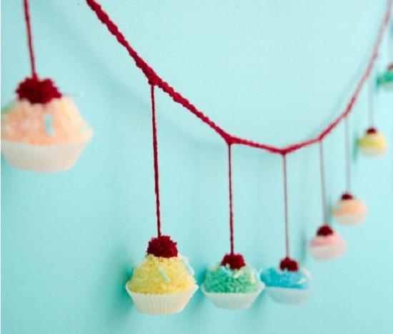 DIY Crochet Cake 14