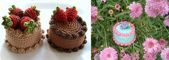 DIY Crochet Cake 4