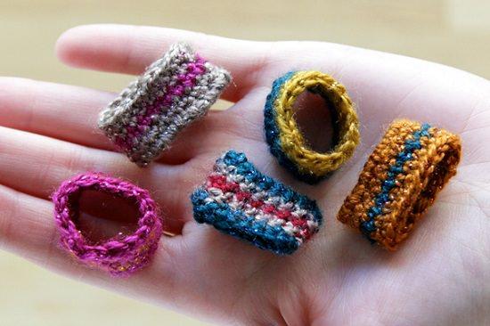 DIY Crochet Rings