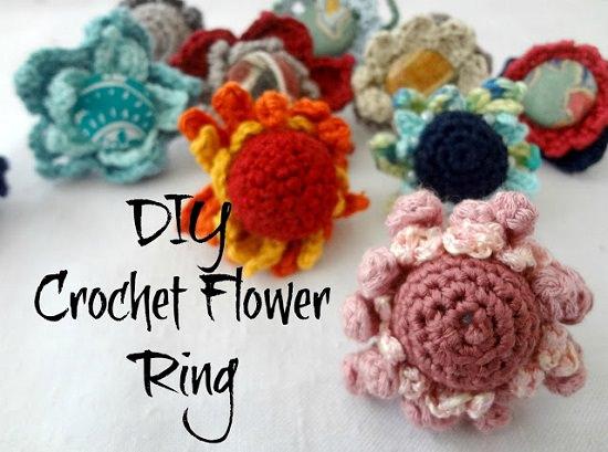 DIY Crochet Rings 5