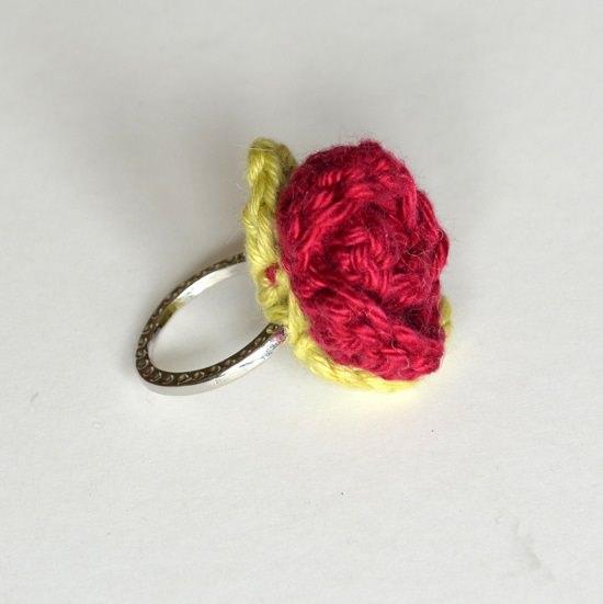 DIY Crochet Rings 6
