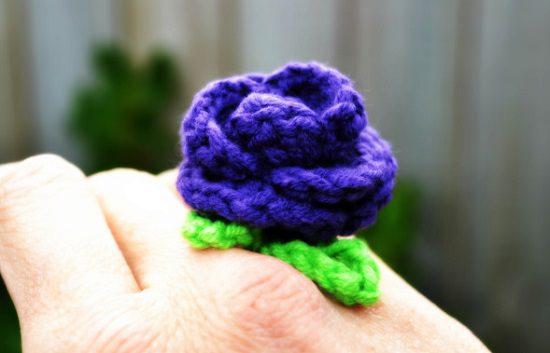 DIY Crochet Rings 13
