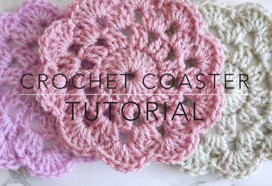 DIY Crochet Coaster 10