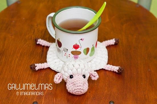 DIY Crochet Coaster 15