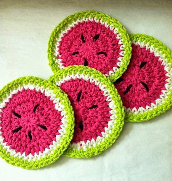 DIY Crochet Coaster 27