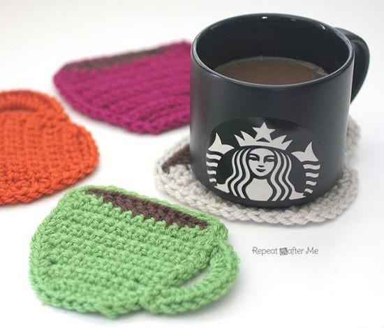 DIY Crochet Coaster 2