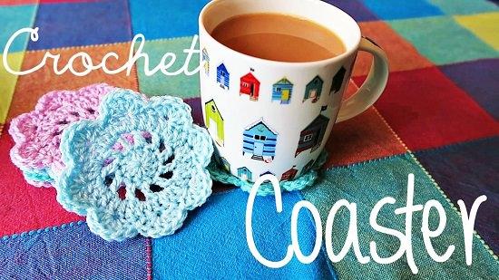 DIY Crochet Coaster 6