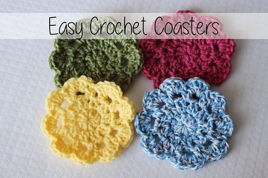 DIY Crochet Coaster 8