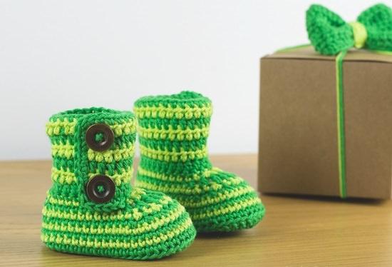 Baby Booties Crochet Patterns 10