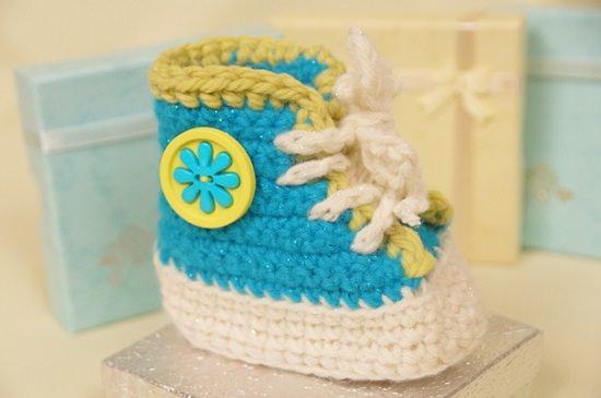 Baby Booties Crochet Patterns 15