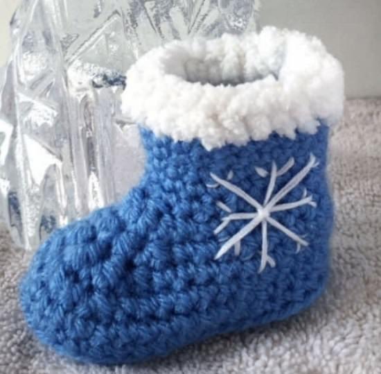 Baby Booties Crochet Patterns 20