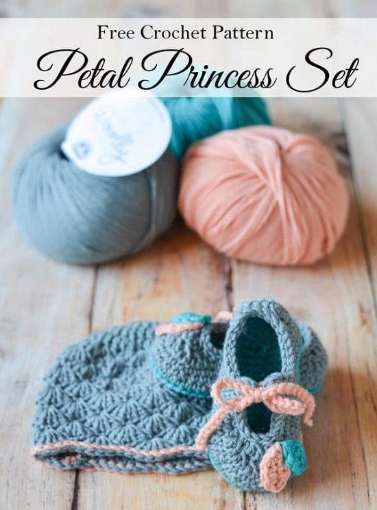 Baby Booties Crochet Patterns 2