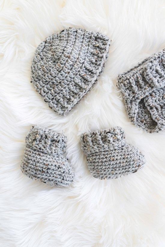 Baby Booties Crochet Patterns 4