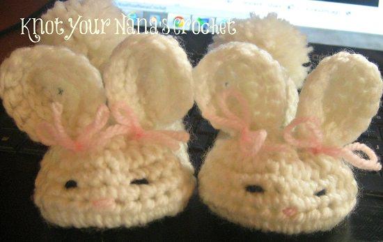 Baby Booties Crochet Patterns 8