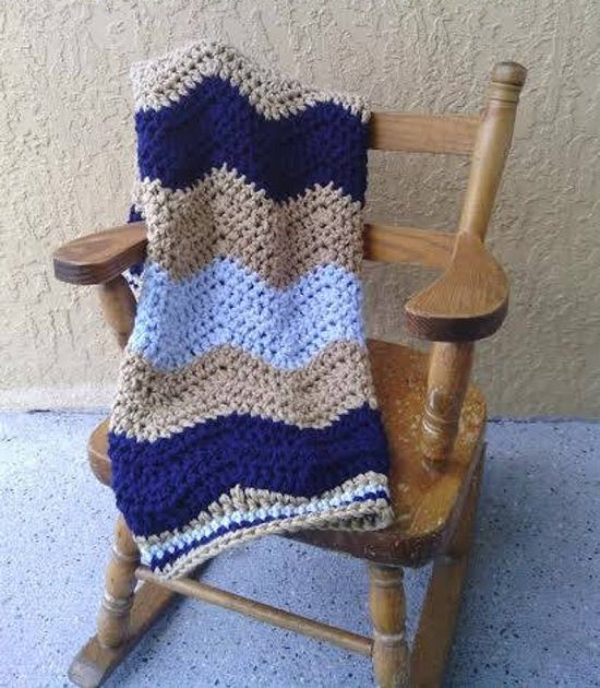 Crochet Ripple Afghan Patterns 10