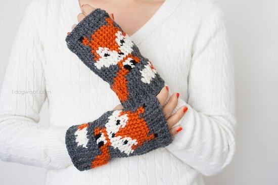 Free Fingerless Gloves Crochet Patterns to revamp your looks!
