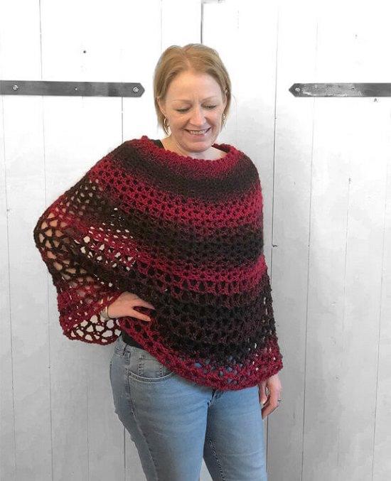 Free Crochet Poncho Patterns to revamp your wardrobe