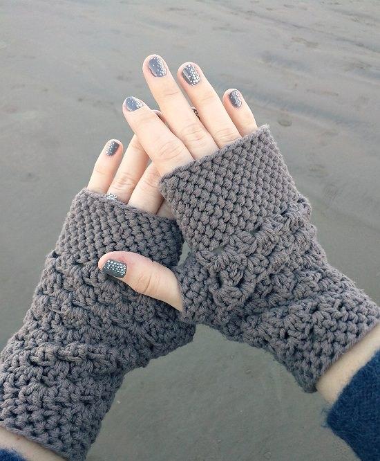 Free Fingerless Gloves Crochet Patterns