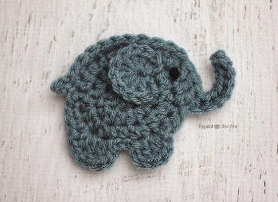 Free Crochet Elephant Rug Patterns