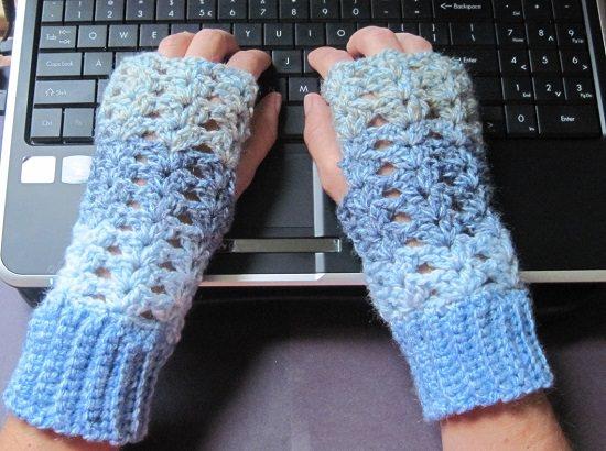 Free Fingerless Gloves Crochet Patterns for you