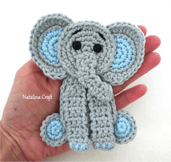 Free Crochet Elephant Rug Patterns 3