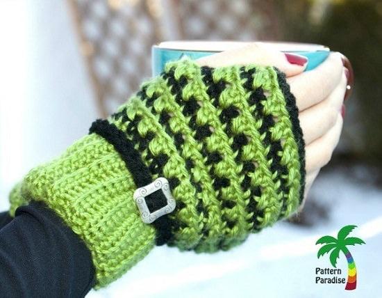 Free Fingerless Gloves Crochet Patterns that are best to wear