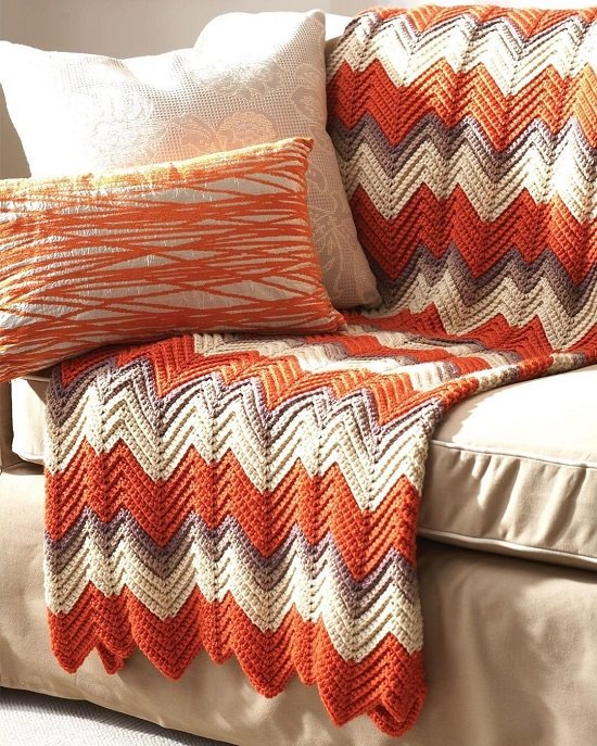 Crochet Ripple Afghan Patterns 6