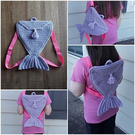 Crochet Mermaid Tail Pattern Free for your kids
