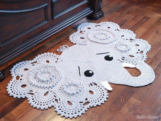 Free Crochet Elephant Rug Patterns 2