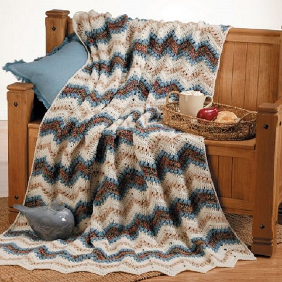 Crochet Ripple Afghan Patterns 12