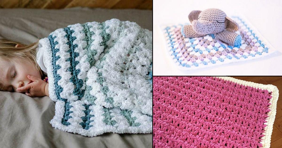 20 Free Crochet Baby Blanket Patterns You Must Try Crocht