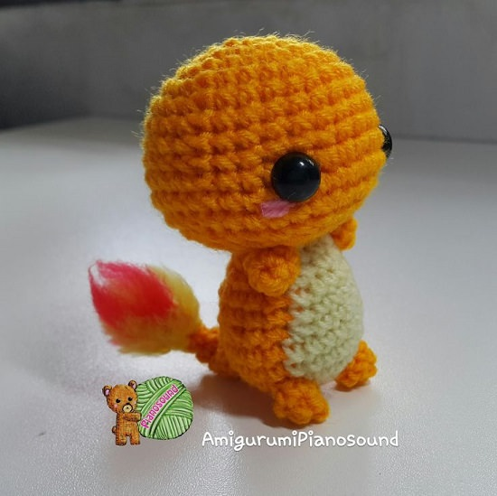 Crochet Pattern of Jigglypuff from Pokemon Go,Amigurumi tutorial ... | 549x550